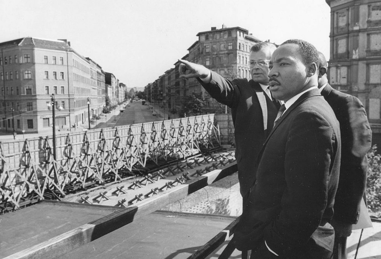 06 Martin Luther King in Berlin on Sept. 12, 1964. PhotoQuest—Getty Images